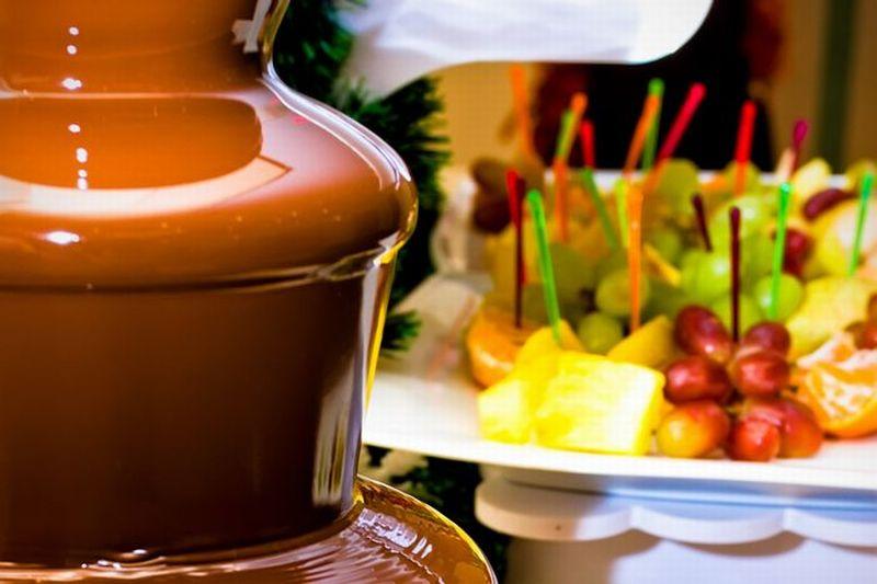 チョコレートファウンテン(※50名様からのご注文となります)