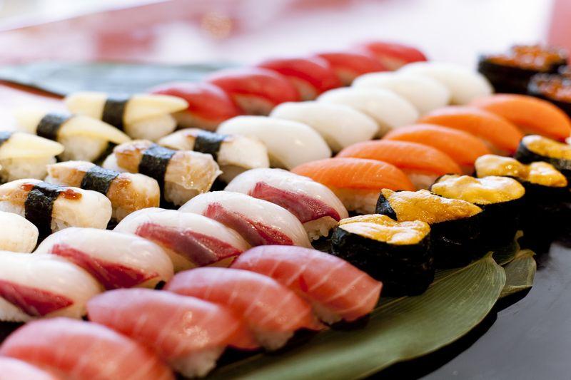 特上江戸前握り寿司