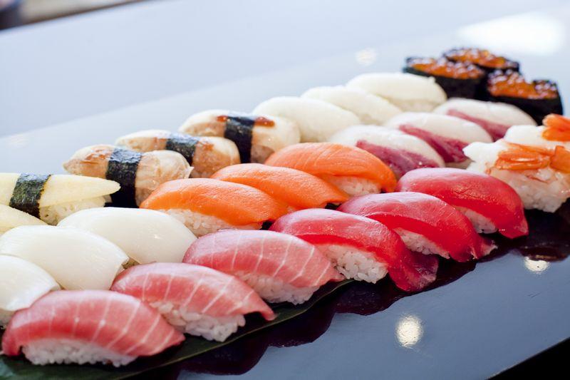 上江戸前握り寿司