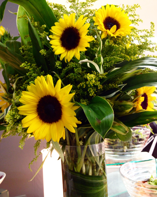 夏のお花と夏野菜