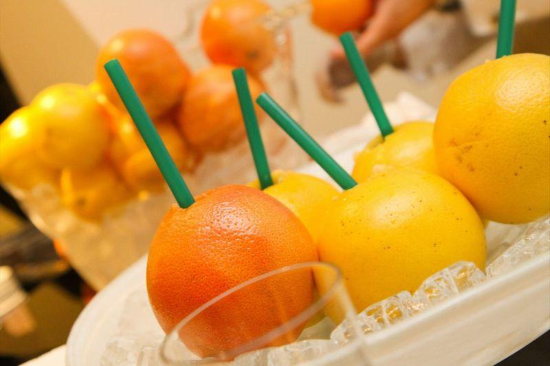 生絞りグレープフルーツジュース