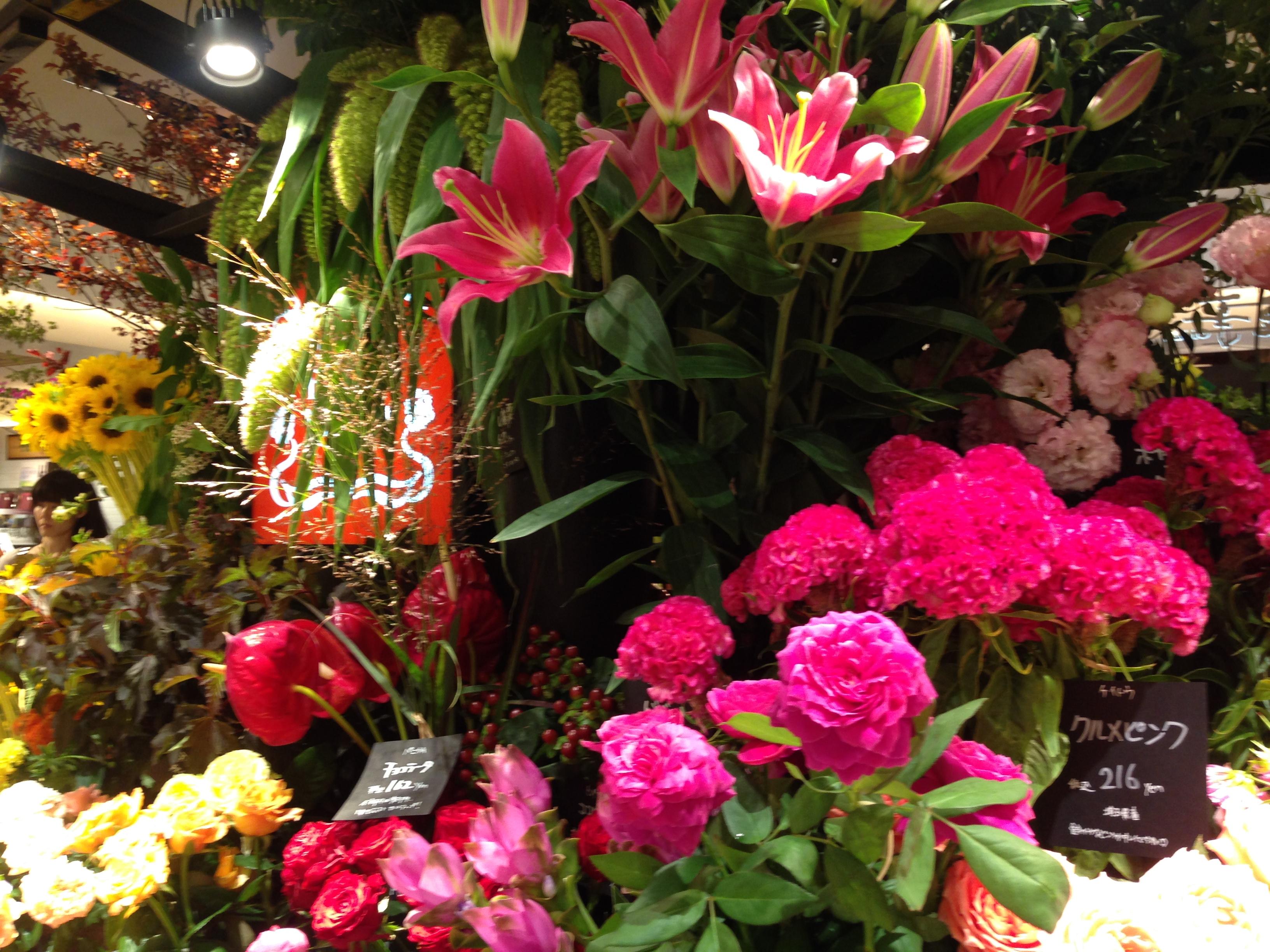 お花の仕入れ
