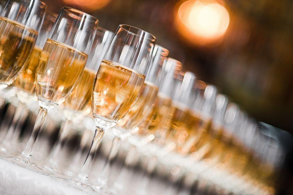 乾杯用スパークリングワイン