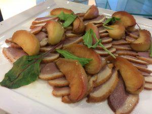 鴨とリンゴのキャラメリゼ