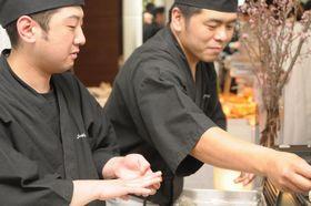 お一人様3690円スタンダード寿司LIVE付きプラン
