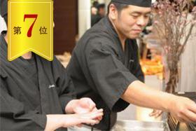 《7位》お一人様3690円スタンダード寿司LIVE付きプラン